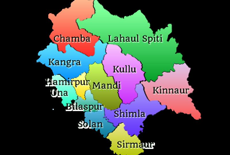 Sub Divisions of Himachal Pradesh